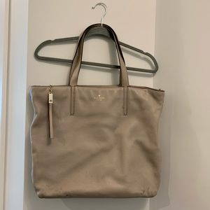 Large Leather Kate Spade Tote